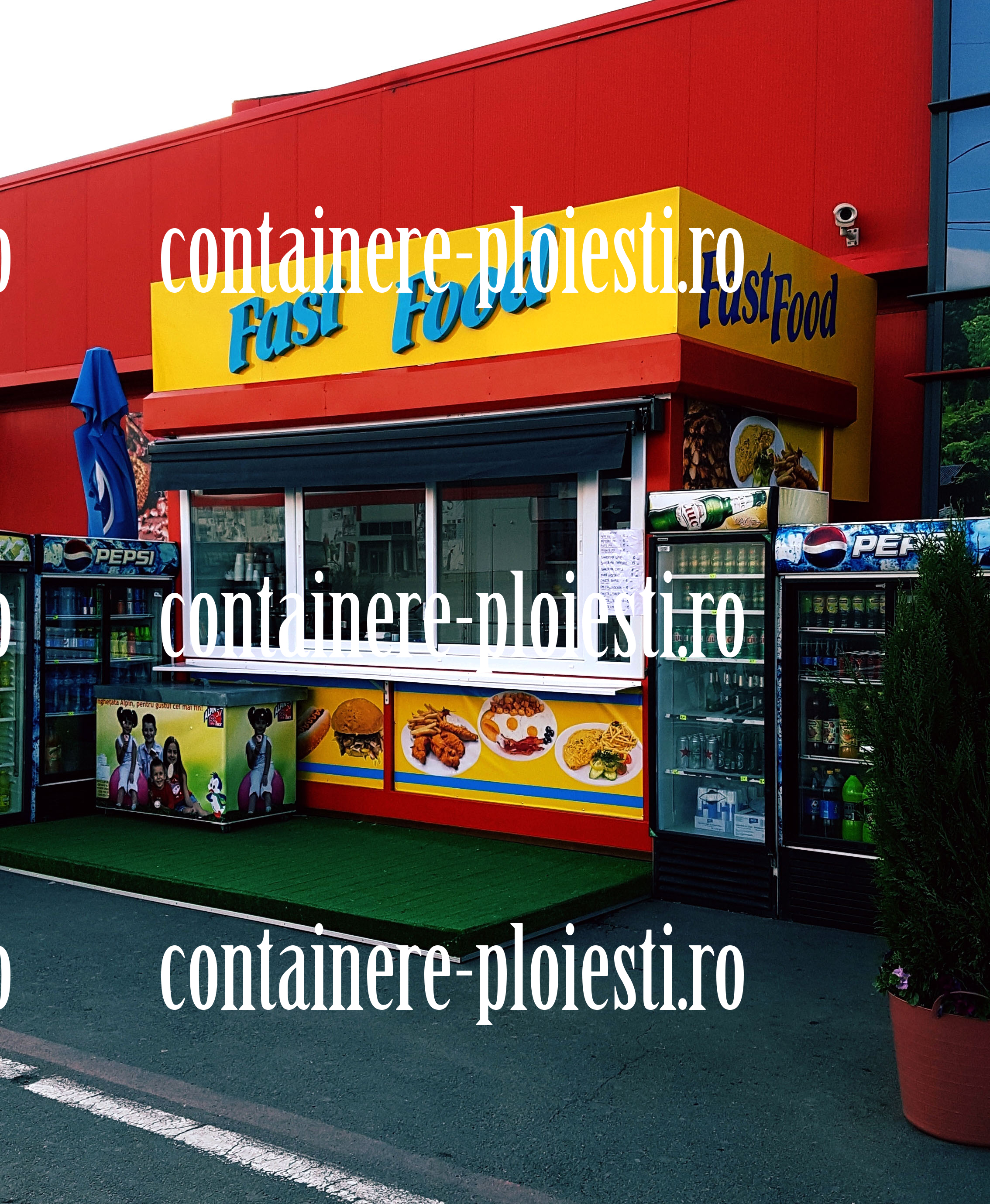 vand container second hand Ploiesti